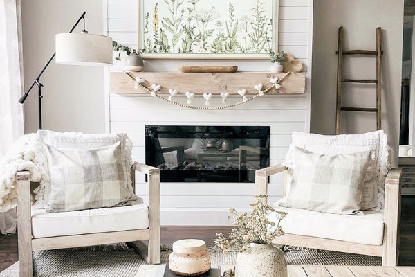 Touchstone Home Products DIY fireplace thebloomingnest Instagram