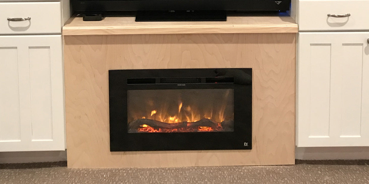 Sideline 28 Electric Fireplace