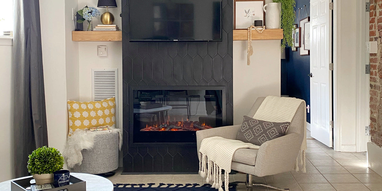 Sideline 36 Electric Fireplace