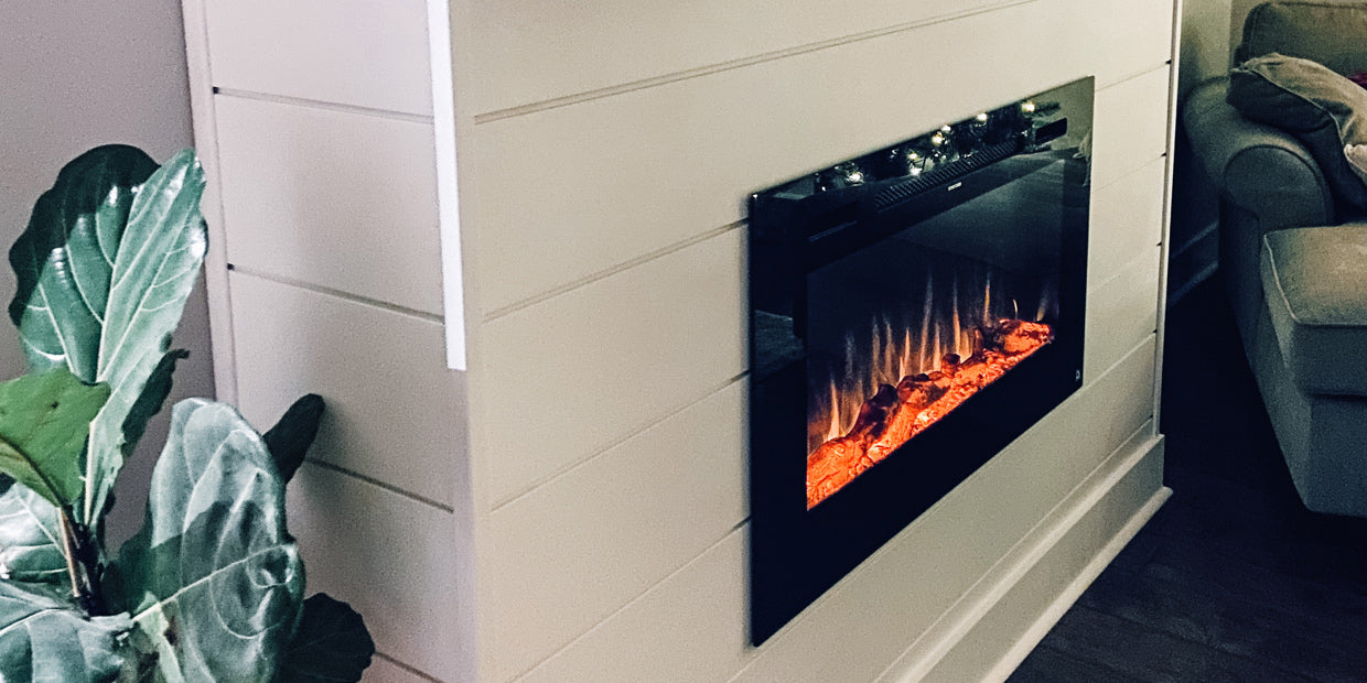 Sideline 40 Electric Fireplace