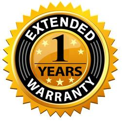 "1 Year Extended Warranty - For Electric Fireplaces 60"" or larger and Emblazon Series - Touchstone Home Products, Inc."