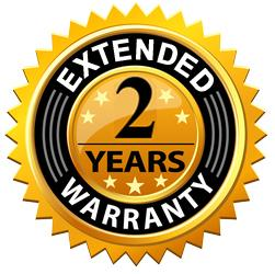 2 Year Extended Warranty - For 80001 80002 80008 80014 80025 80026 80027 80030 80031 - Touchstone Home Products, Inc.