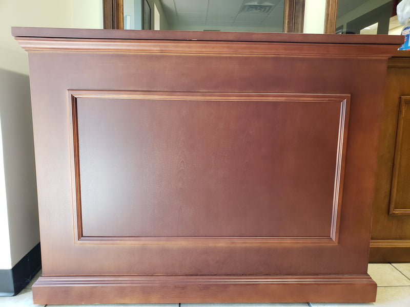 "Showroom Model - 3 Inch Smaller Elevate Custom Finish Cherry TV Lift Cabinet for 46"" Flat screen TVs - Touchstone Home Products, Inc."