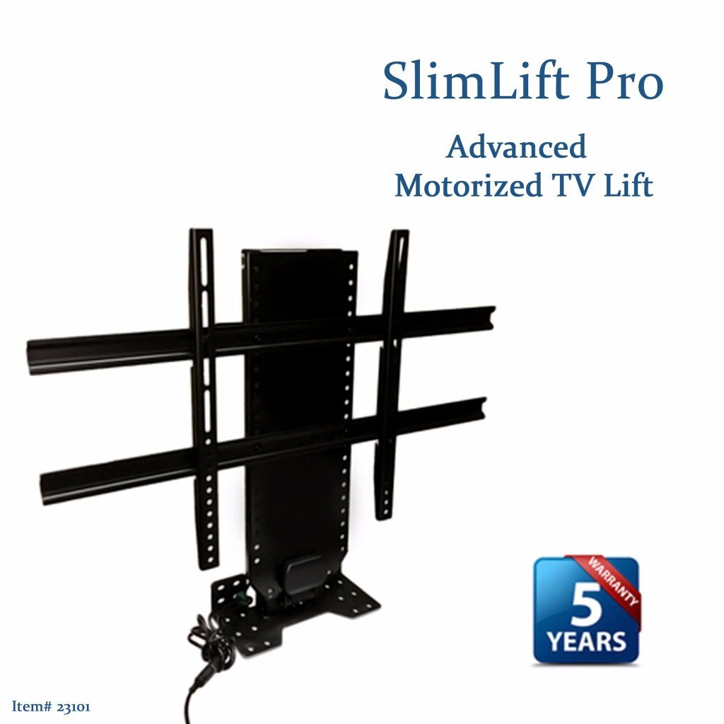 Touchstone 23101 slimlift pro advanced tv lift mechanism for Motorized flat screen tv lift