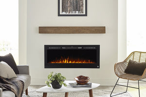 Sideline Fireplace and Encase Mantel Bundle