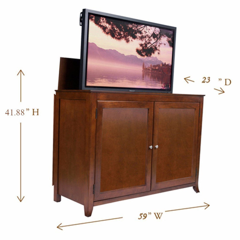 "Berkeley 70045 TV Lift Cabinet for 60"" Flat screen TVs - Touchstone Home Products, Inc."