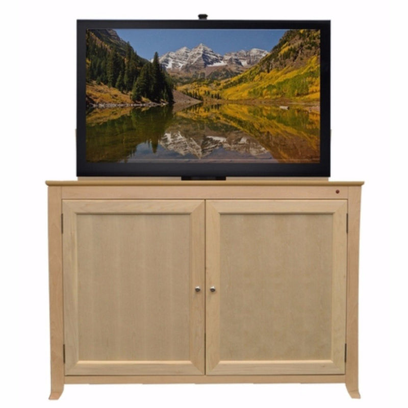 "Monterey 70156 Unfinished TV Lift Cabinet for for 60"" Flat screen TVs - Touchstone Home Products, Inc."