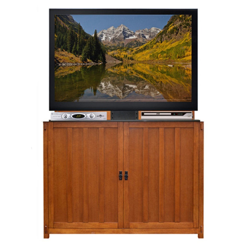 "Elevate 72006 Mission Style TV Lift Cabinet for 50"" Flat screen TVs - Touchstone Home Products, Inc."