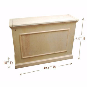 "Elevate 72012 Unfinished TV Lift Cabinet for 50"" Flat screen TVs - Touchstone Home Products, Inc."