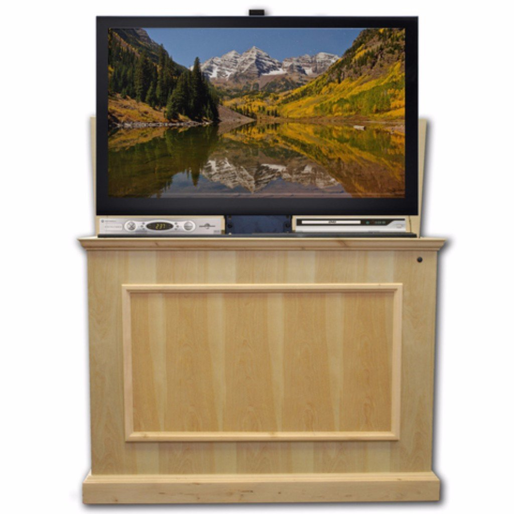 Touchstone 72012 Elevate Unfinished Birch Tv Lift Cabinet For Tvs Up To 50 Touchstone Home Products Inc