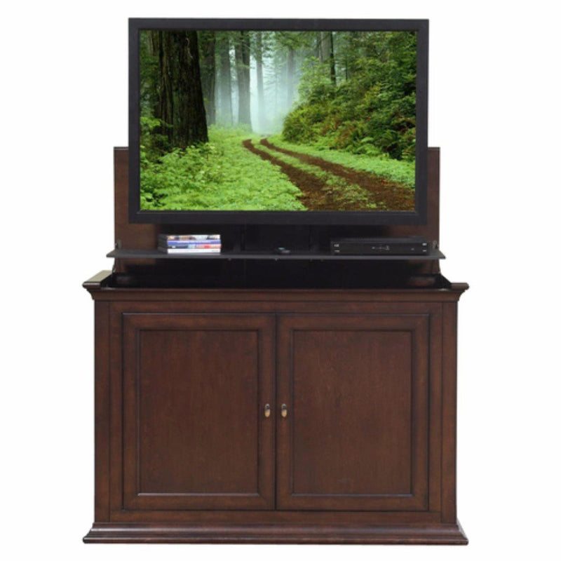touchstone 73008 harrison tv lift cabinet for tvs up to 46. Black Bedroom Furniture Sets. Home Design Ideas