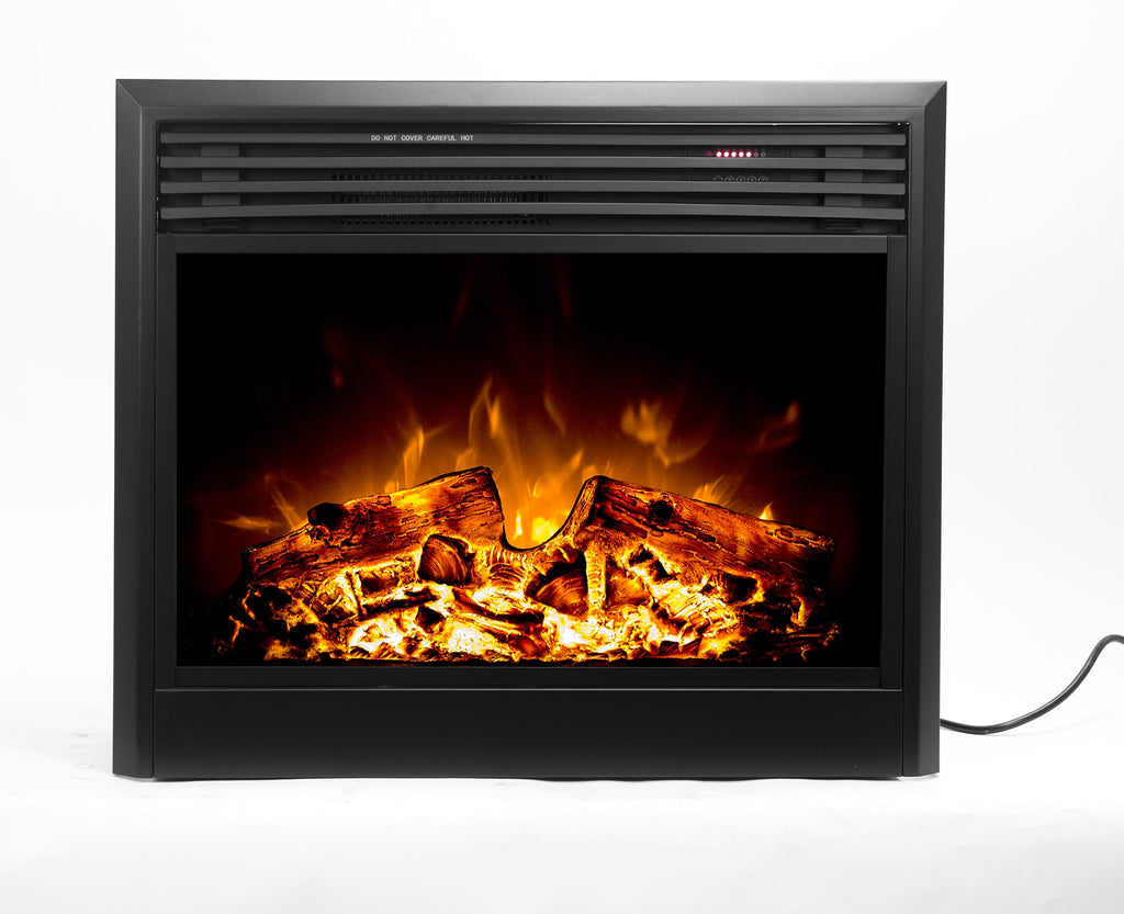 "Ingleside 80009 Electric Fireplace, 28"" Wide, Firebox Insert, LED"