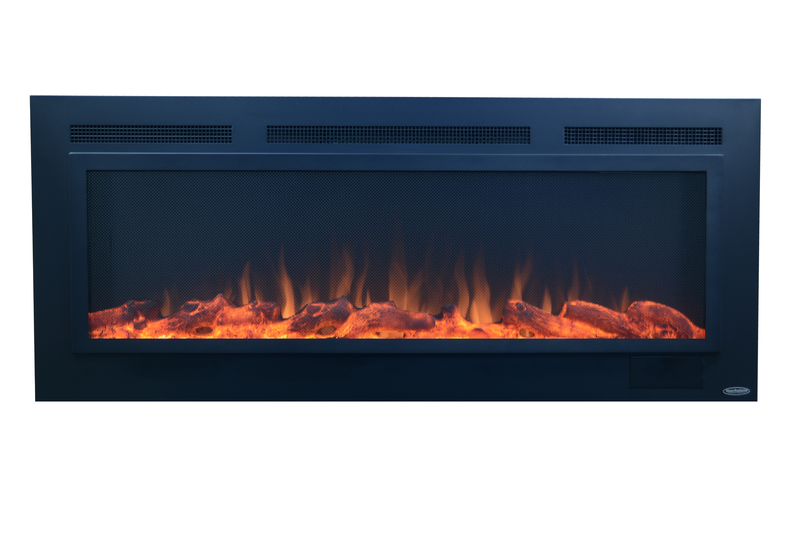 "Sideline Steel 80013 Refurbished 50"" Recessed Electric Fireplace"