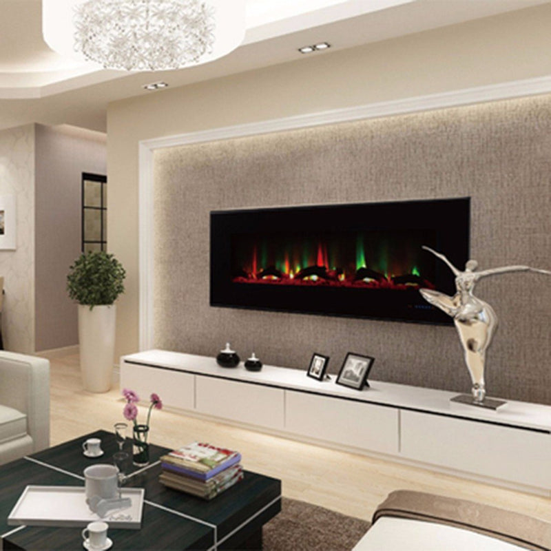 "ValueLine 60 80018 60"" Recessed Electric Fireplace - Touchstone Home Products, Inc."