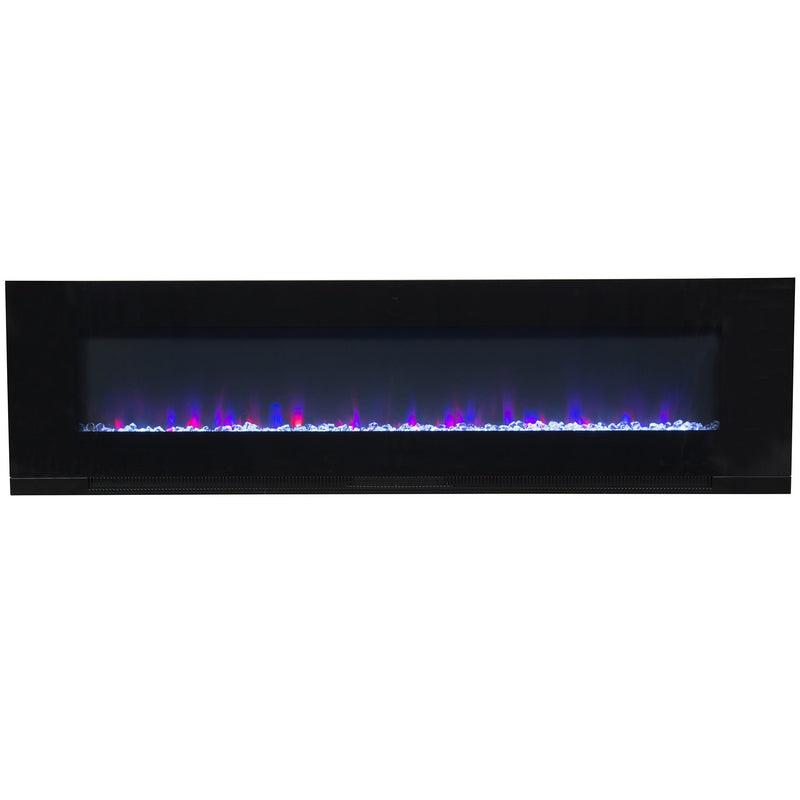 "ValueLine 72 80019 72"" Refurbished Flush Mount Electric Fireplace - Touchstone Home Products, Inc."