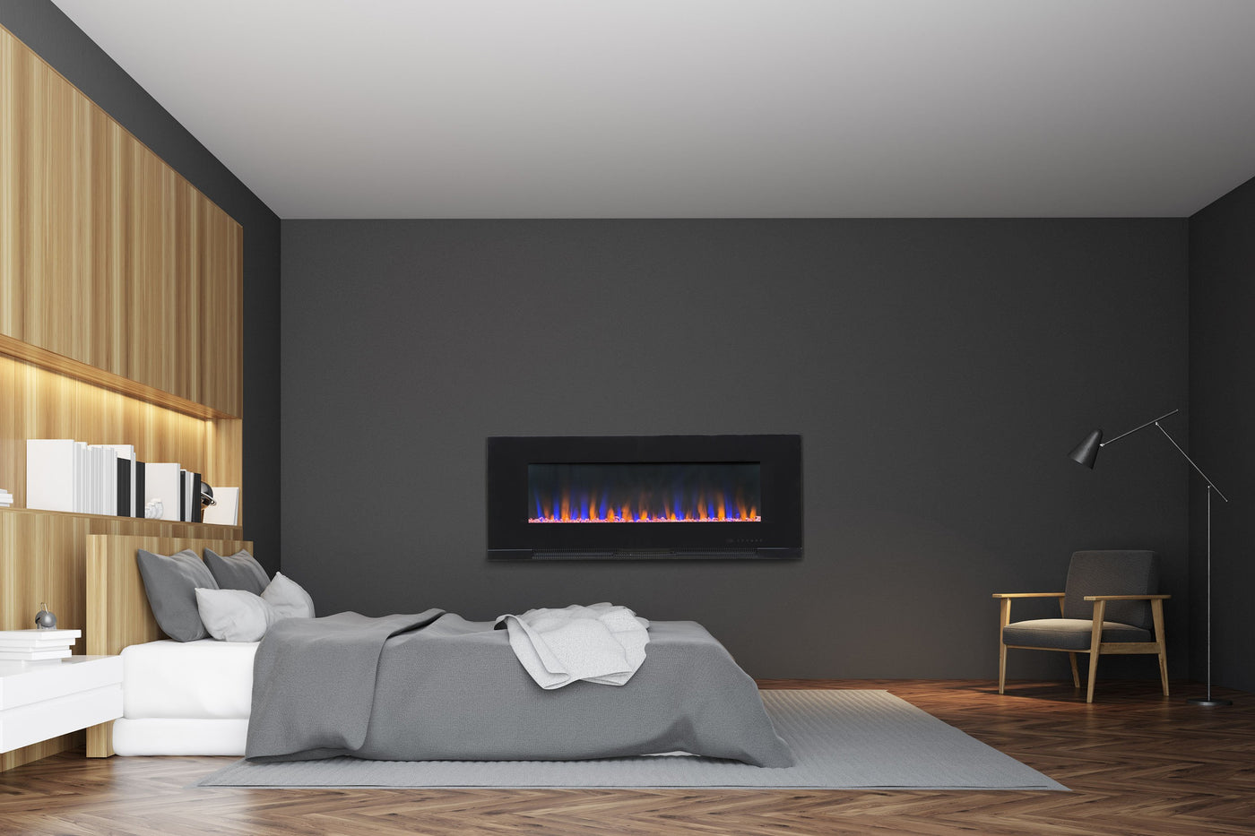 recessed electric fireplace partially valueline 50 80031 50 touchstone recessed wall electric fireplace