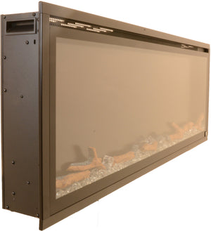 "Sideline Elite 50"" Refurbished Recessed Electric Fireplace - Touchstone Home Products, Inc."
