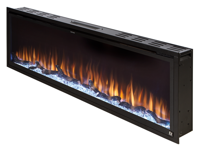 "Sideline Elite Smart 60"" WiFi-Enabled Recessed Electric Fireplace (Alexa/Google Compatible)"