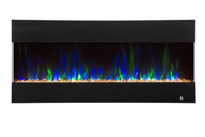 "Fury 80040 50"" Recessed Electric Fireplace - Touchstone Home Products, Inc."