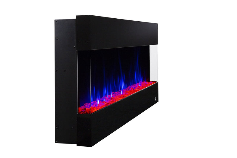 "Fury 80040 50"" Recessed Electric Fireplace"