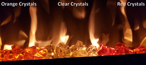 Orange Fireplace Crystals 89004 - Touchstone Home Products, Inc.