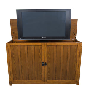 "Grand Elevate 74006 Mission TV Lift Cabinet for 65"" Flat screen TVs - Touchstone Home Products, Inc."