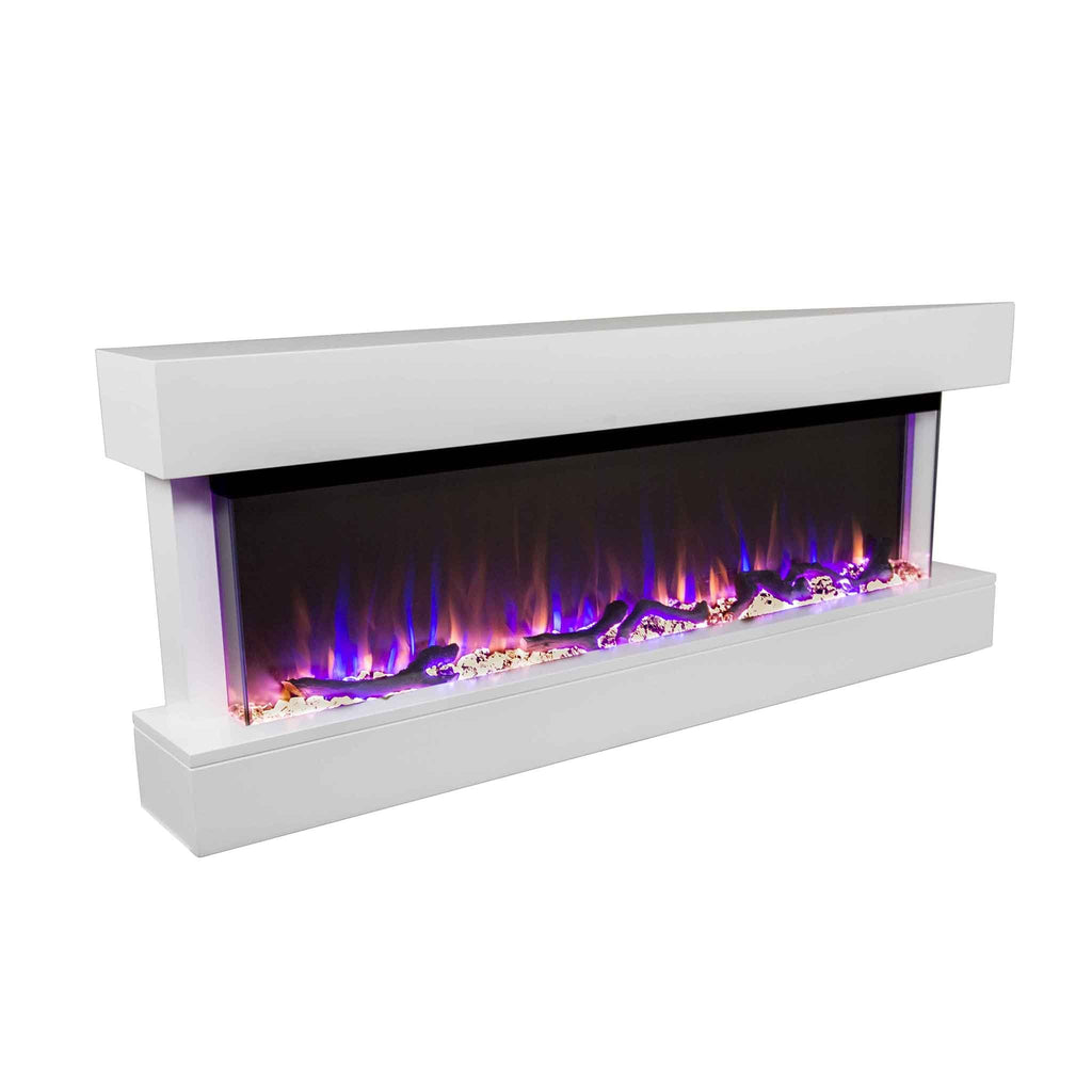 "Chesmont 50"" 80033 50"" Wall Mount Electric Fireplace - Touchstone Home Products, Inc."
