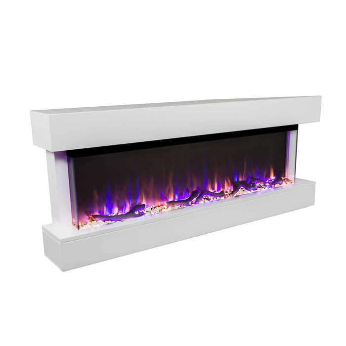 "Chesmont 50"" 80033 50"" Refurbished Wall Mount Electric Fireplace"