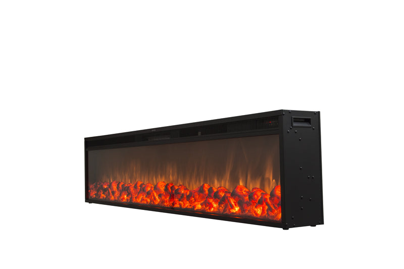 "Emblazon 96 - 96"" Linear Electric Fireplace - Touchstone Home Products, Inc."