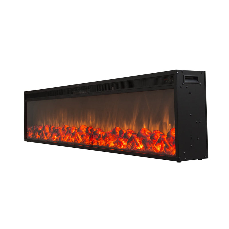 "Emblazon 72 - 72"" Linear Electric Fireplace - Touchstone Home Products, Inc."