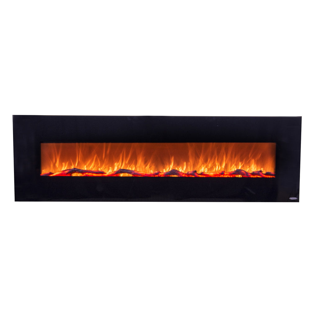 Touchstone 80011 Sideline 60 Recessed Electric Fireplace 60 Wide