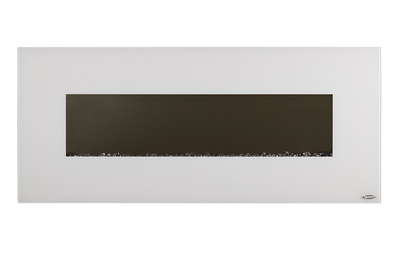 Touchstone 80002 Ivory Wall Mounted Electric Fireplace, 50\