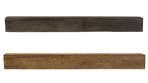 "Encase™ Fireplace Mantels (Ultra-light Foamcore) 60"" & 72"" in Chestnut or Ebony"