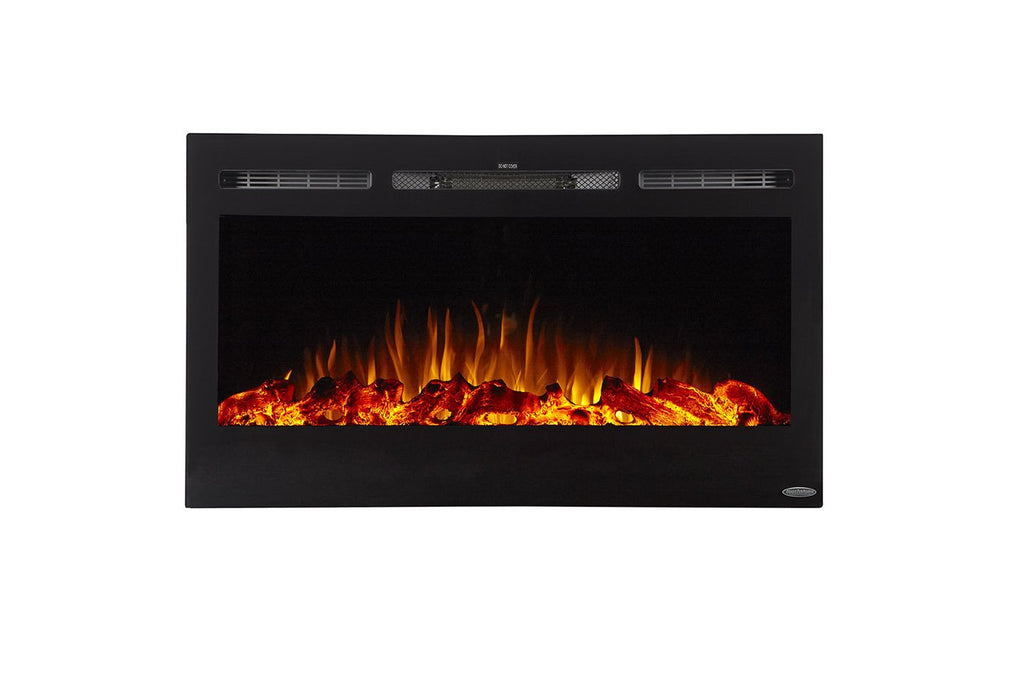 "Sideline 36 80014 Refurbished 36"" Recessed Electric Fireplace - Touchstone Home Products, Inc."