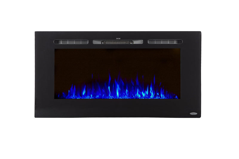 "Sideline 40 80027 40"" Recessed Electric Fireplace - Touchstone Home Products, Inc."