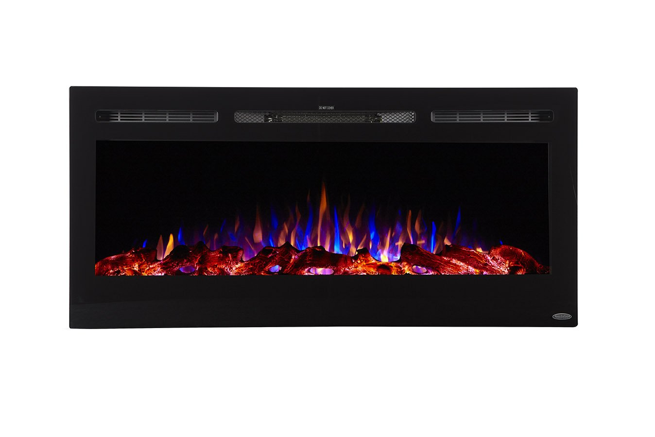 Sideline45 80025 45 Inch Wall Recessed Electric Fireplace