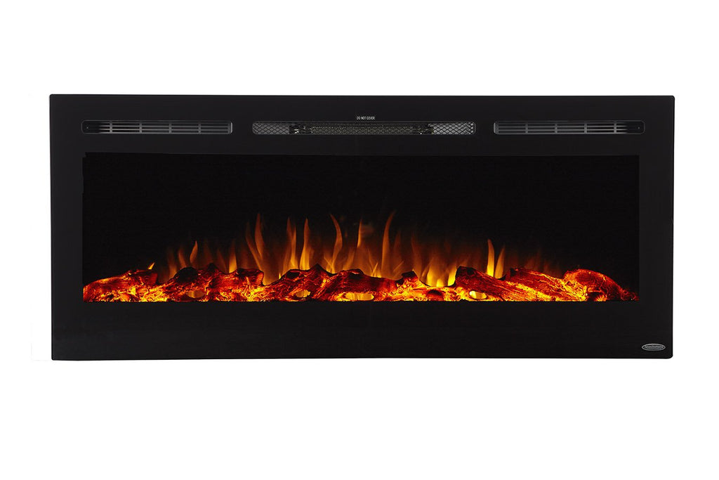"Sideline 50 Refurbished 80004 50"" Recessed Electric Fireplace - Touchstone Home Products, Inc."