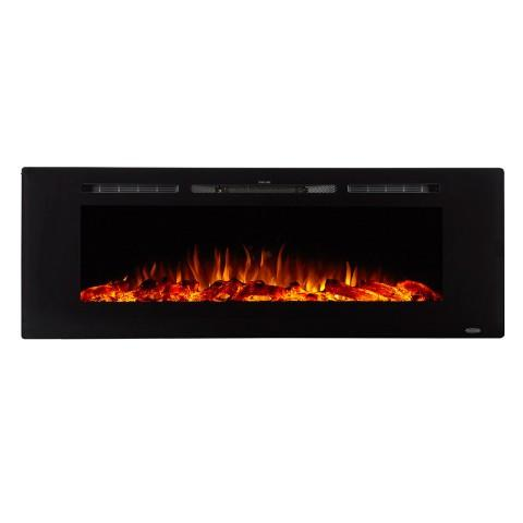 "Sideline60 80011 60"" Recessed Electric Fireplace"
