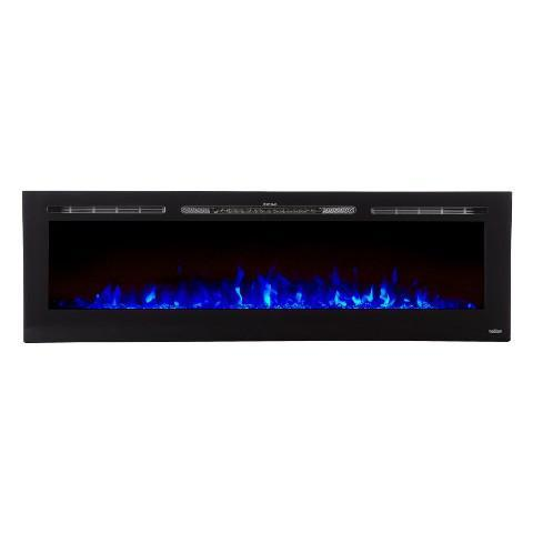 "Sideline 72 80015 72"" Refurbished Recessed Electric Fireplace - Touchstone Home Products, Inc."