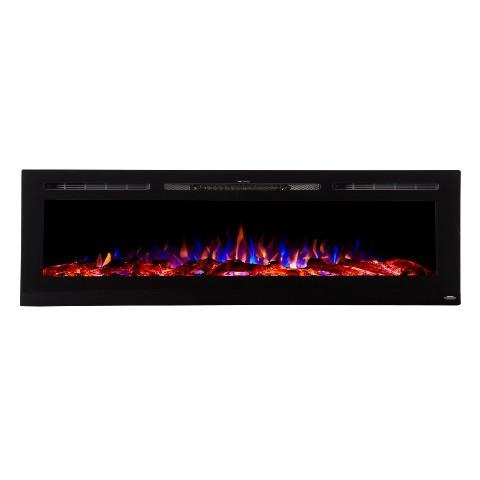 "Sideline 72 80015 72"" Recessed Electric Fireplace"