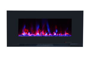 "ValueLine 42 80030 42"" Refurbished Flush Mount Electric Fireplace - Touchstone Home Products, Inc."