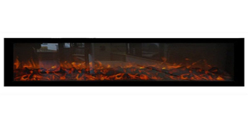 "Emblazon 96 80104 96"" Linear Electric Fireplace - Touchstone Home Products, Inc."