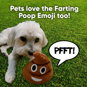 Poop Emoji Farting Plush Toy
