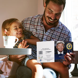 Talking Trump Fathers Day Card