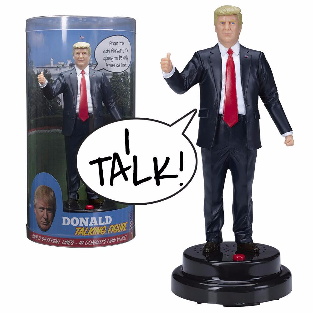Says 17 Different Audio Lines In President Trump/'s Donald Trump Talking Figure