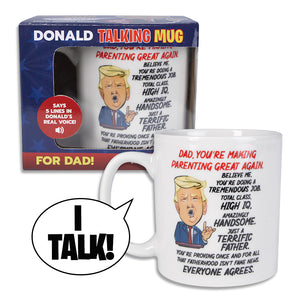 Donald Trump Talking Coffee Mug FOR DAD
