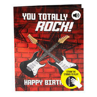 Interactive Musical Guitar Birthday Card