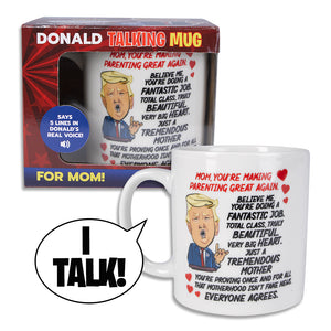 Donald Trump Talking Coffee Mug FOR MOM