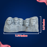 Mount Rushmore Statue with Donald Trump Head