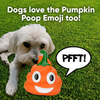 Pumpkin Poop Emoji Farting Toy